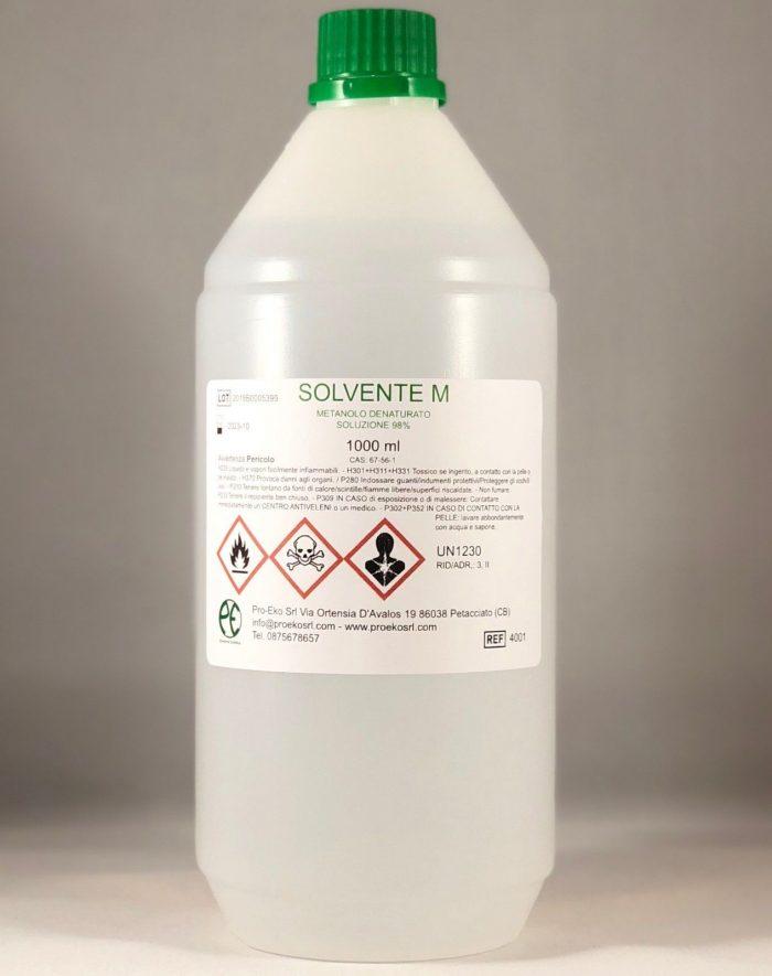 metanolo denaturato