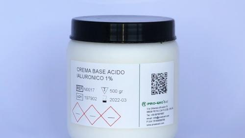 crema acido ialuronico