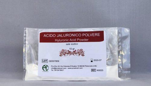 acido ialuronico polvere