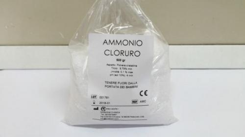ammonio cloruro